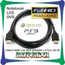 Cable Hdmi 1.50 Mts Version 1.4 Full Hd 3d 1080p F.varela