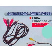 Cable Alargue 2 Rca 1,5 Metros Na7010