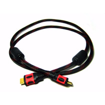 Cable Hdmi Hdmi 3 Metros Alta Definición - Super Resistente