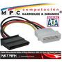 Adaptador Molex A Sata Power Cable De Energia Netmak Nm-c05