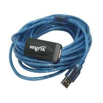 Cable Usb 2.0 - Alargue 10 Mts Con Amplificador Ns-caexus10