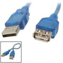 Cable Prolongador Usb Macho-hembra Con Filtro Mallado 2.0