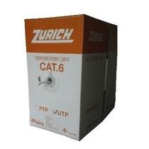 Cable Utp 4paresx305mts Cat6 Zurich 1000mbps 250mhz Interior