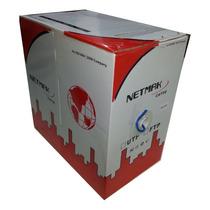 Cable Bobina Utp Cat 5e Netmak 305 Metros Flexible Interior