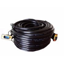 Cable Vga 40 Metros Mts Macho A Macho Proyector