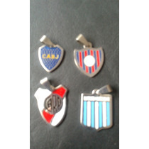 Dijes De Acero Quirurgico River Boca Racing Independiente