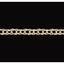 Cadena Oro 18k Rombos Dobles