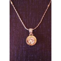 Liquido:collar Y Dije De Plata 925 Y Oro!