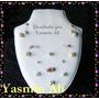 Collar De Diseño 3 Vueltas Rodocrosita, Cuarzos Y Perlas
