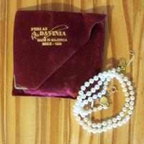 Collar De Perlas Davinia - 45 Cm - Origen Majorca
