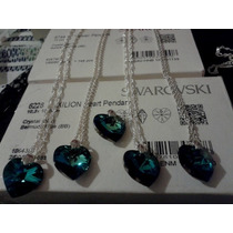 Swarovski Elements, Bermuda Blue, Conjunto 18 Mm