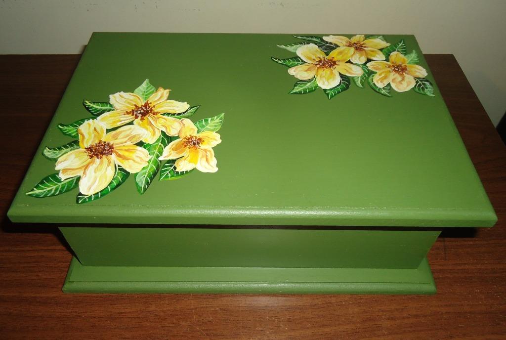 Como pintar caja de madera imagui Pintar caja madera