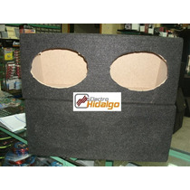Cajas Acustica Doble Para Parlantes 6x9 Pulgadas