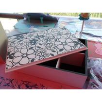 Cajas De Te Pintadas A Mano Y Con Decupage