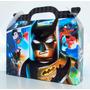 Cajita Golosinera Lego Batman Pack X10 Valijitas Infantil