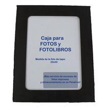 Caja P/fotosy Fotolibros Personalizada C/foto Nombre 33x33cm