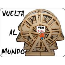 Vuelta Al Mundo Fibrofacil / Candy Bar / Berazategui /envios