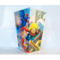 Cono Para Pochoclos Y Golosinas Lego Vengadores Pack X10