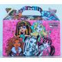Cajita Souvenirs Monster High Pack X10 Valijitas Infantil