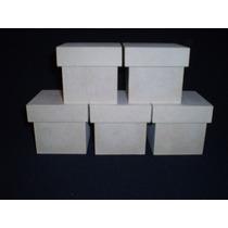 Caja Fibrofacil 6x6x6 (10 Unidades) Maderarte