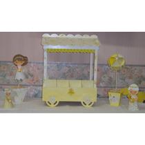 Carrito Para Candy Bar Golosinero De Fibrofácil Mesa Dulce