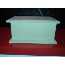 Caja Fibrofacil 10x15 Con Bisagra Y Division Super Prolijas