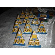 Souvenir Original! Minions Y Otros!10 Paquetes C/gomitas!
