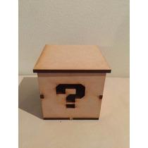 Caja Cubo Grabada O Calada Souvenirs 6x6
