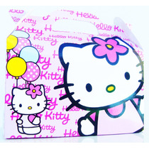 Cajita Golosinera Hello Kitty Pack X10 Valijitas Infantil