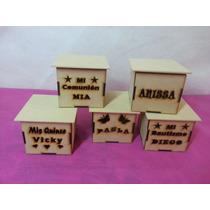 Cajas Fibrofacil 10x10x10 Personalizadas X 5 Unidades !!!