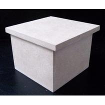 Cajitas Cajas Fibrofacil 6x6x6 Excelente Calidad Para Pintar