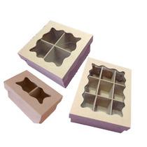 Caja Fibrofacil Porta Te Con Tapa Con Vidrio 6 Div