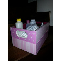 Caja Porta Cosmeticos De Bebé - Se Pinta A Gusto