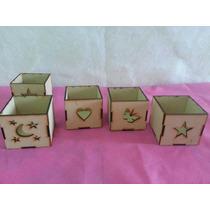 20 Fanales En Fibrofacil De 6x6x6
