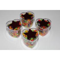Cajitas Corazon Souvenirs Candy Bar Cumpleaños Cajas