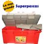 Caja De Pesca Mauri 540, La Mas Grande, 54 X 25 X 25 Cm.
