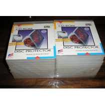 20 Cajas Porta Cd Transparentes Irrompibles Flexibles De Usa