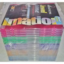 Cajas Cd Slim X 25 Transparentes Varios Colores Importada