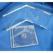 Cajas Acrilicas Para Cd -tray Transparente X 100 Unid