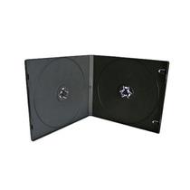 Cajas Cd Plástica Doble Con Folio Calidad Premium
