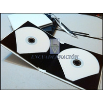 Porta Dvd Estuche Personalizado - Packaging - (para 2 Dvd)