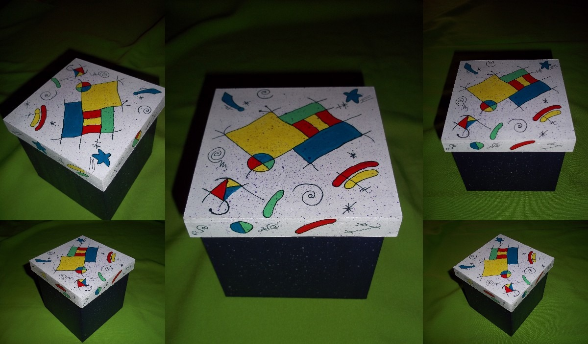 Pin artesan as de m xico decoraci n mexicana contempor nea - Cajas de madera pintadas a mano ...