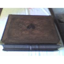 Caja De Madera Forrada Interiormente