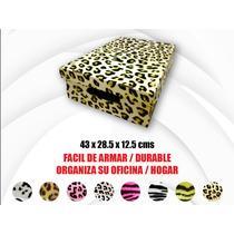 Cajas Organizadoras De Carton Fantasia Promo X6 Unidades