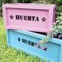 Cajones Huerta Y Macetas De Madera Reciclada. Envio Gratis!
