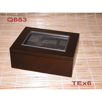 Caja De Te X6 / Relojes Importada