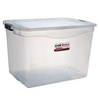 Caja De Plástico 80 Lts Apilable Organizadora Colombraro