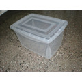 Caja Plastica Organizadora 25 Lts Apilable Transparente