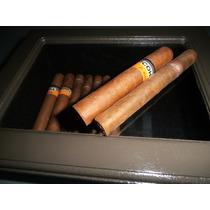 Caja Porta Cigarros Pintada Decorada Artesanalmente C/felpa