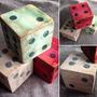 Dados De Madera Adorno Vintage Unicos 8x8 Cubos Antiguos